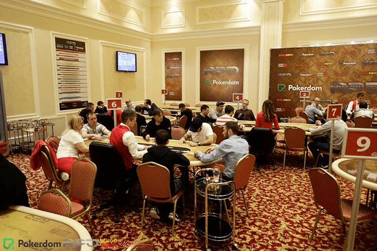 Russian Poker Open (RPO) day 1
