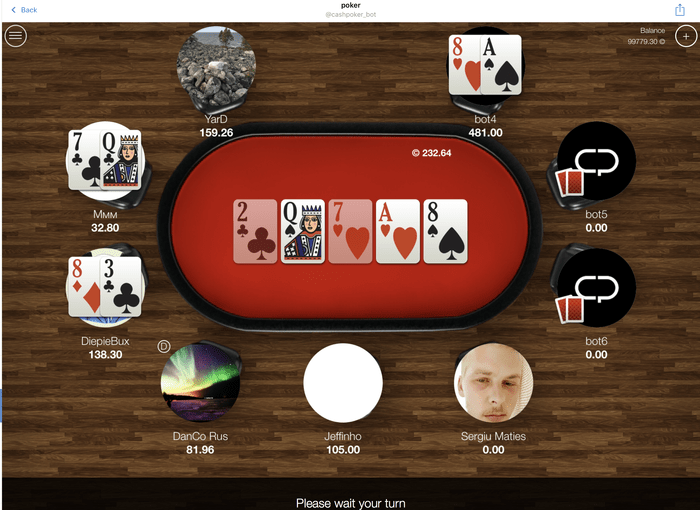 Сash Poker Pro table