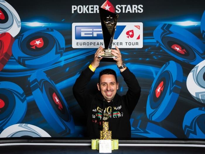 Серхио Аидо - победитель Super High Roller