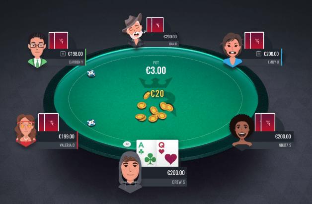 В RIO Poker рейкбек получает только победитель раздачи
