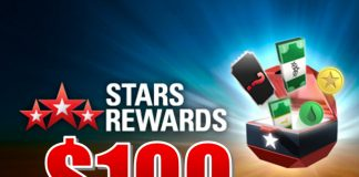 Stars rewards bonus $100