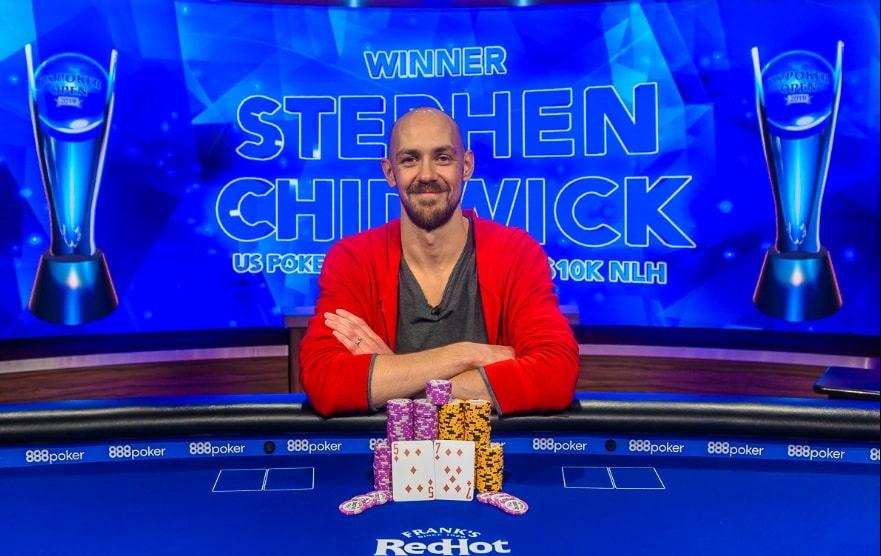 Стивен Чидвик – победитель турнира NLH за $10,000