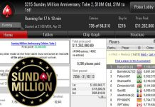 Sunday Million Anniversary Edition Take 2 day 1