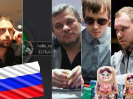 TOP-5 russian poker players