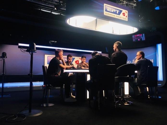 Телевизионный стол EPT Sochi Main Event 2019