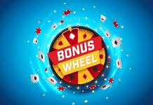 Titan Poker Bonus wheel