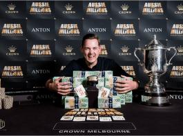 Toby Lewis win ME Aussie Millions