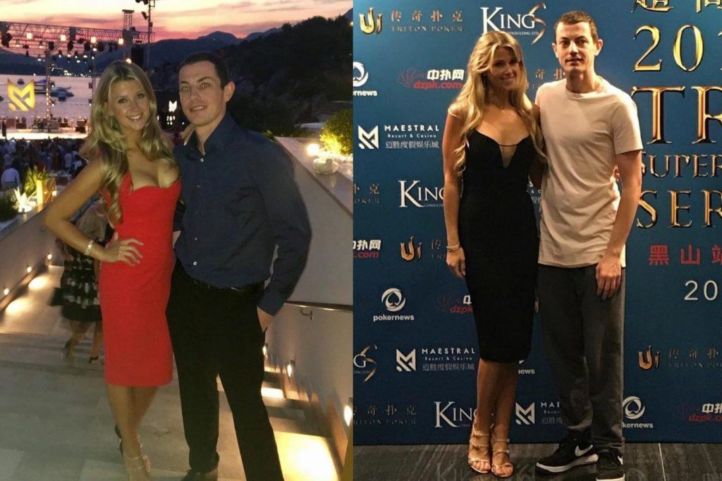 Том с девушкой