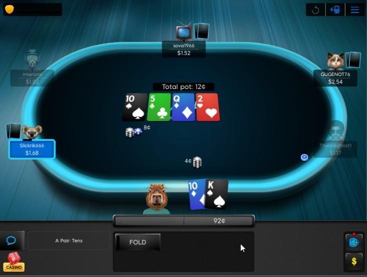 Улучшенная графика клиента Poker 8