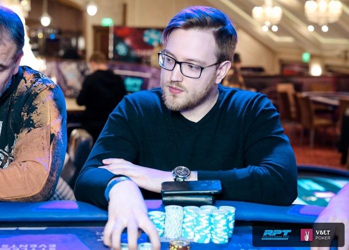 Вадим Липовка - восьмое место ($3,455)