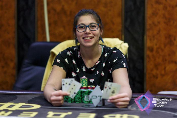 Виктория Басистова - победитель Omaha KnockOut ($662)
