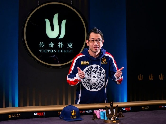 Винфред Ю на Triton Poker