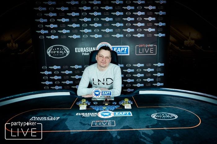 Виталий Черный - победитель Bounty 100 KO ($2,168 без учета баунти)