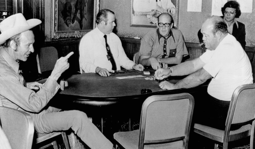 Финальный стол WSOP 1972: осталось 4 игрока