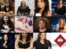 Women in Poker Hall of Fame 2018