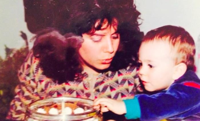 маленький Хэкстон с мамой