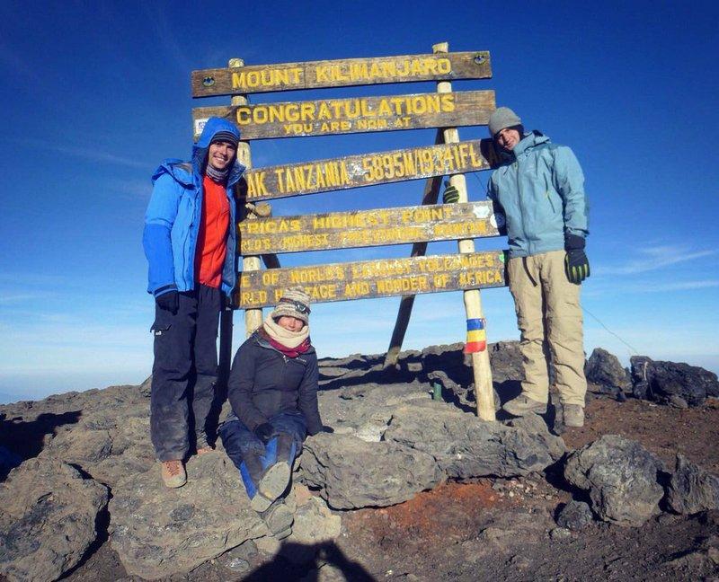Хольц на Килиманджаро