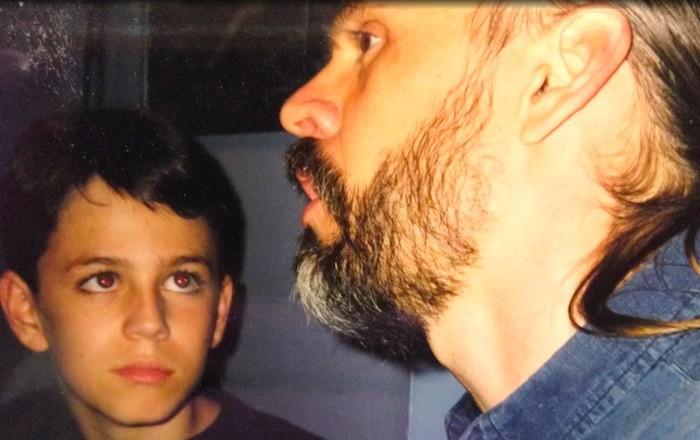 маленький Хэкстон с отцом