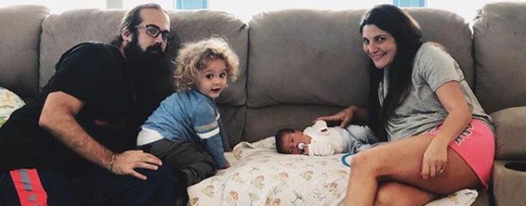 Наташа и Джейсон Мерсье и их дети