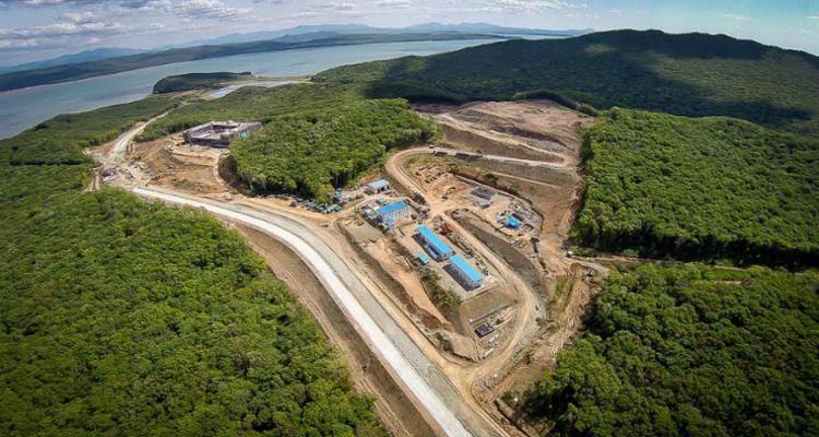 стройка Приморье фото с воздуха