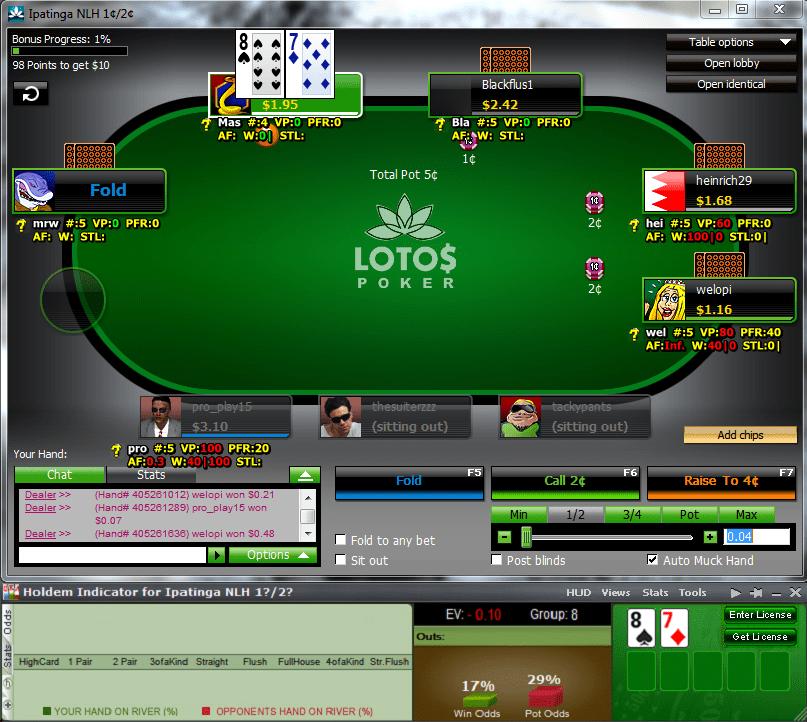 Программа для покера онлайн расчет вероятности скачать голден стар отзывы