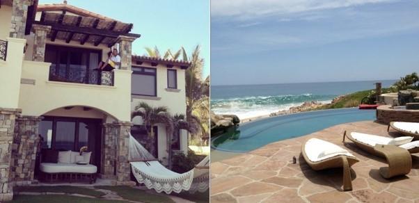 дом Фила Айви на берегу Тихого океана