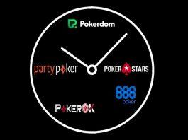 Время для онлайн покера игровые автоматы играть крейзи манки