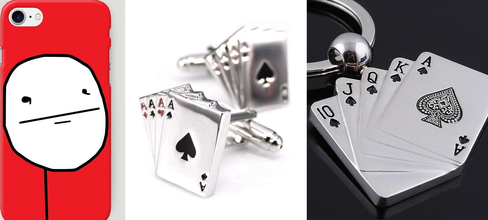 Аксессуары с покерной тематикой