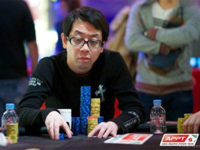Азиатский игрок в покер