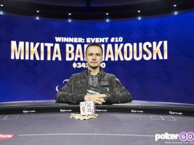 Никита Бодяковский в студии PokerGO
