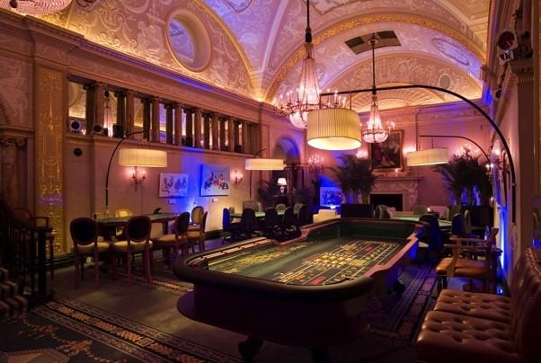 интерьер казино