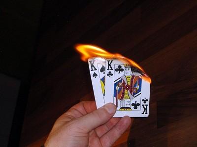 KK горят огнем