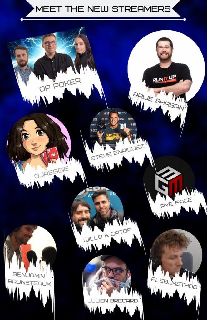 Новая команда стримеров PokerStars