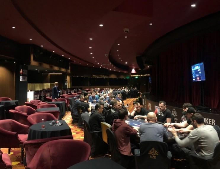 Зал Вельвет в казино Сочи