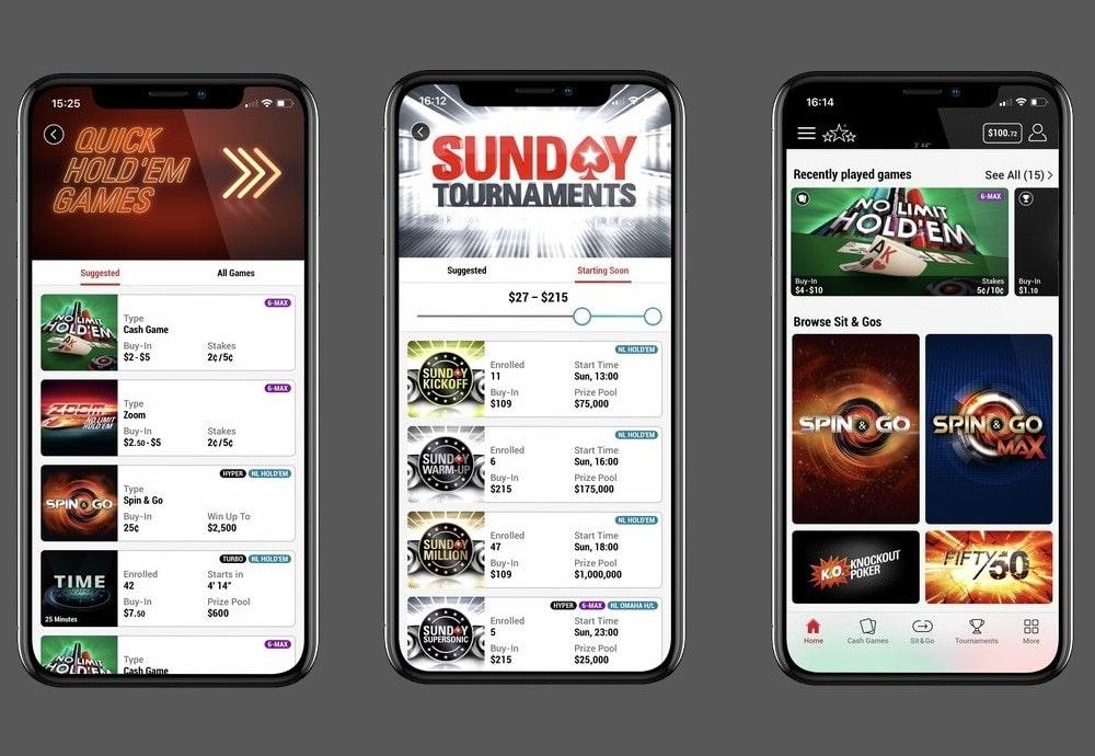 iOS-версия нового мобильного приложения PokerStars