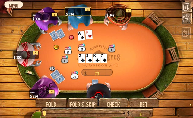 Экран Governor of Poker