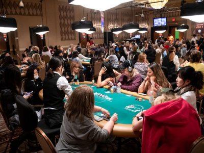 Первые женщины в покере
