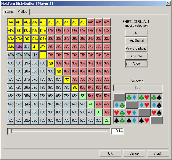 покера онлайн вероятность