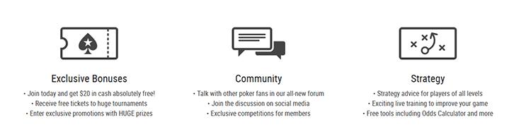 pokerstarsschool - bonus community strategy
