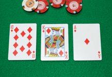 Текстура доски покер
