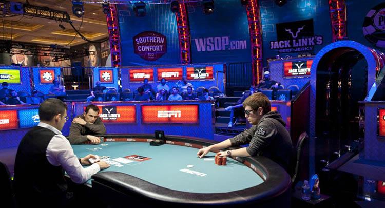 Фото финала WSOP