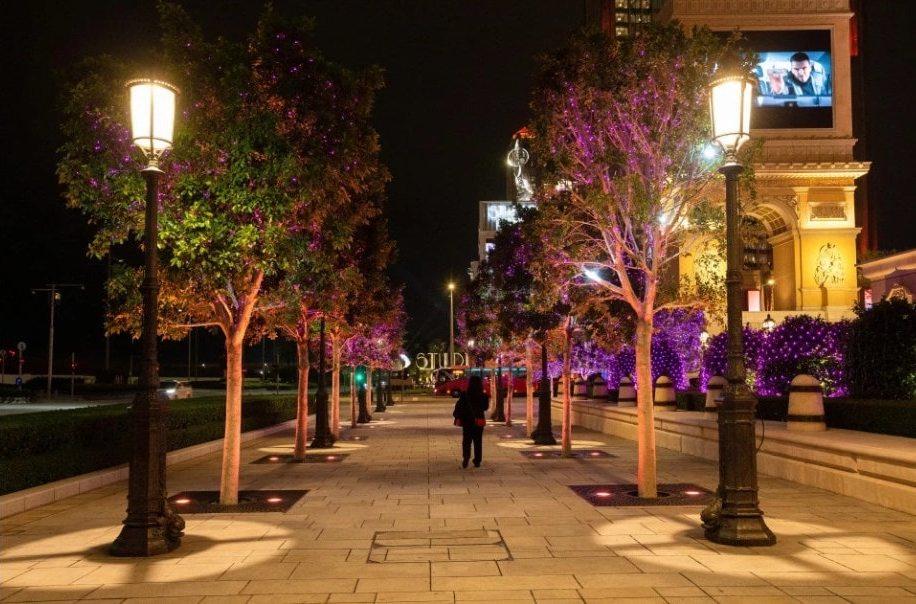 пустая улица район Котай