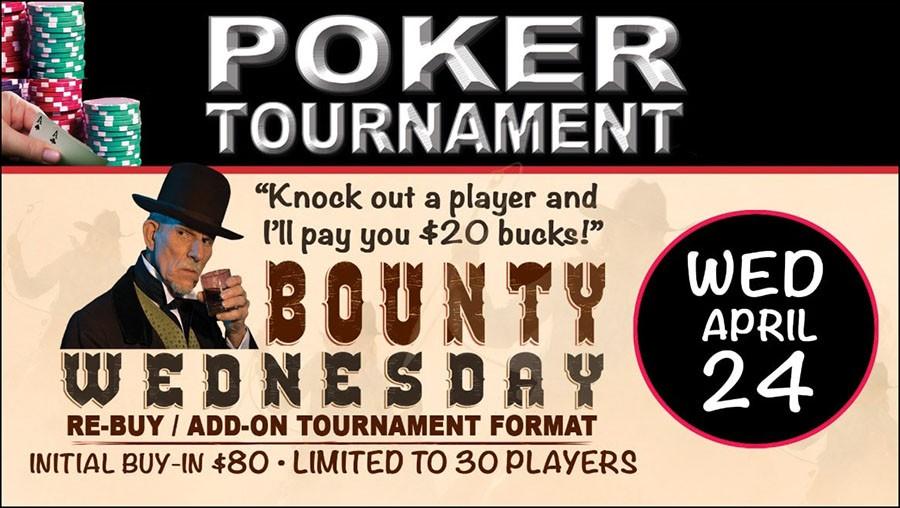 реклама баунти-турнира в стиле Дикого Запада