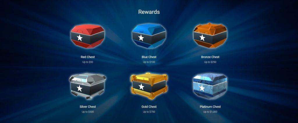 Прошлая версия сундуков Stars Rewards