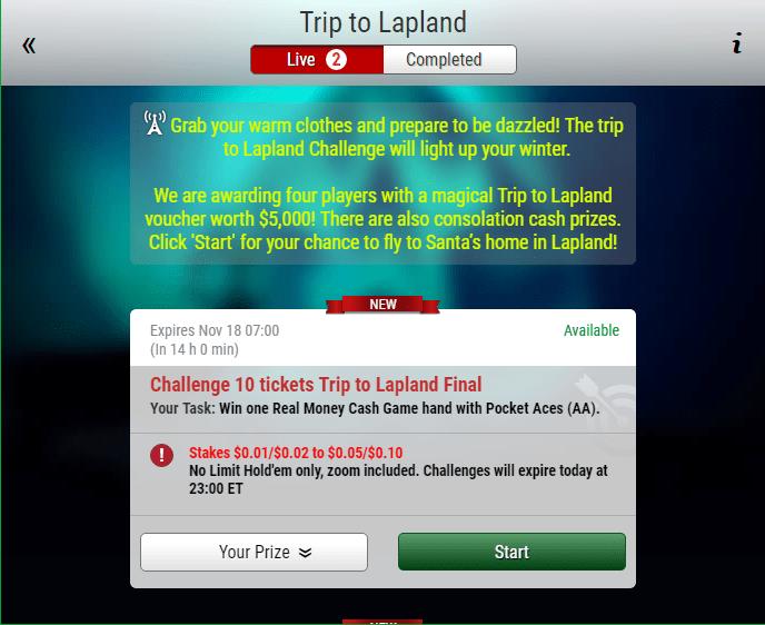 trip to lapland mission