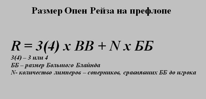 Формула Рейза