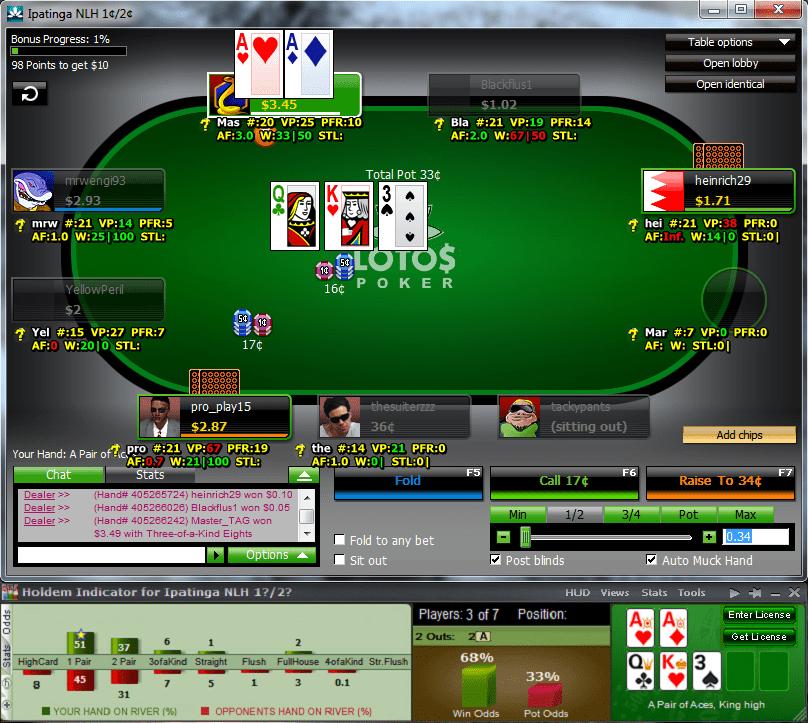 программа для покер старс онлайн расчет